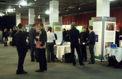 Delegates at the SUPA exhibition