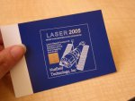 Laser marking with smallest 10W CO2 laser