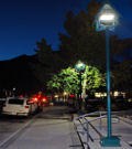 LEDs are lighting the streets of Banff in Canada as part of a pilot project with Osram.