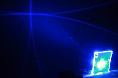 Plastic laser