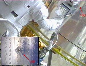 Hubble damage #1