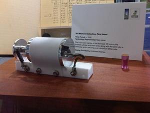 Maiman laser replica