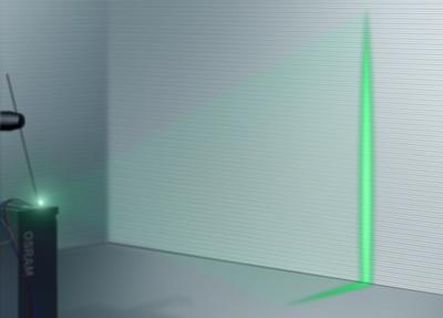 Osram green laser projector