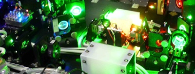 RGB laser setup