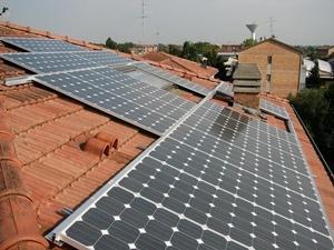 Italian rooftop solar