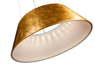 Philips LED lamp and shade