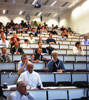 Imperial measure: the Photonex conference last week.