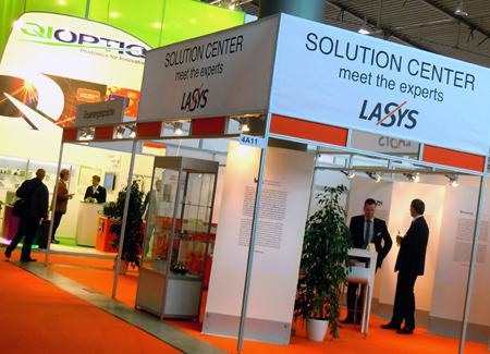 Favourable climate: LASYS 2012 has attracted 178 exhibitors, and hopes for 4500 visitors.