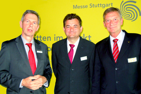 Willkommen, bienvenue, welcome to LASYS 2012: Hein, Graf and Walter.