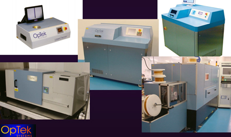 Fiber flexibility: Optek has installed precision machining equipment worldwide.