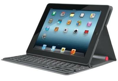 Logitech's DSSC-powered iPad keyboard
