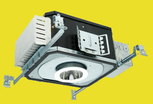 Nuventix cools LED recessed luminaire.