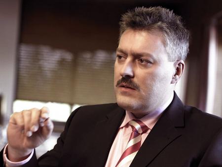 Michael Mertin, Jenoptik's Chairman and CEO.