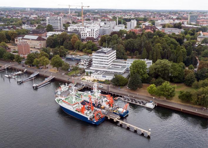 The GEOMAR Helmholtz Center for Ocean Research in Kiel, Germany.