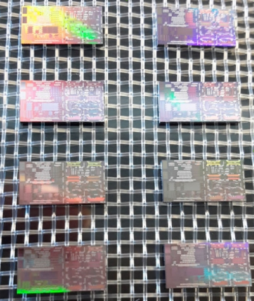 Silicon photonics chips