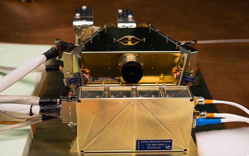 Cheops' Focal Plane Module houses CCD detector array and electronics.