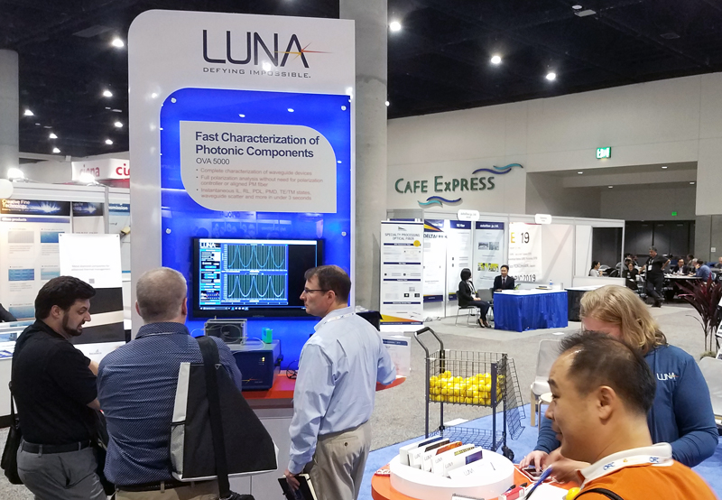 Luna Innovations exhibited with General Photonics at Photonics West.
