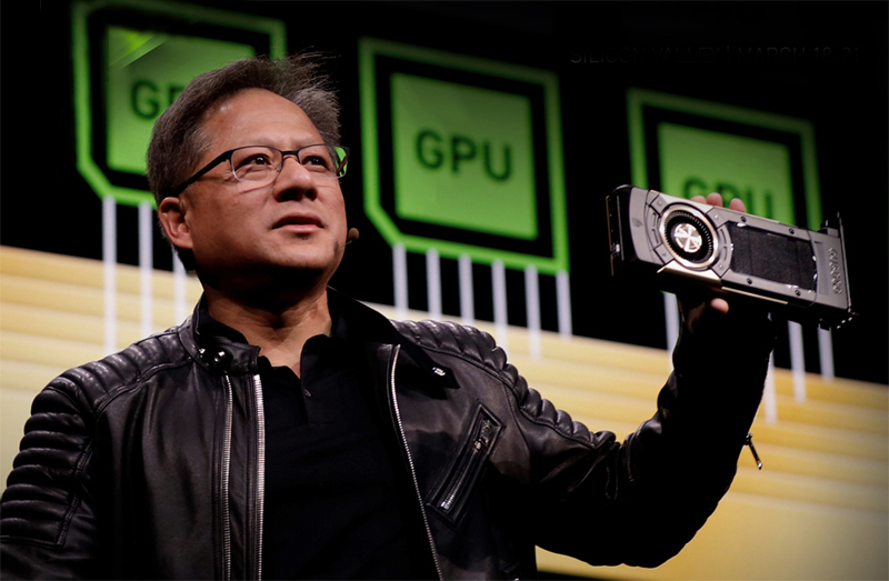 Jensen Huang, founder and CEO of NVIDIA.