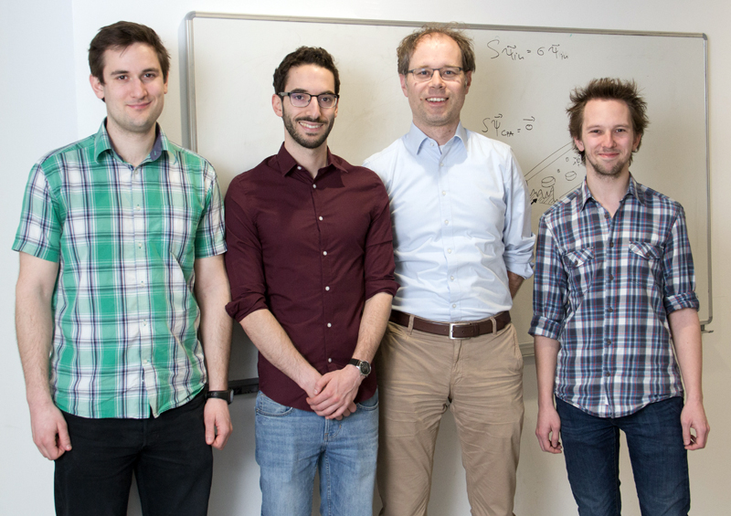 Power brokers: TU Vienna's QCL development team.