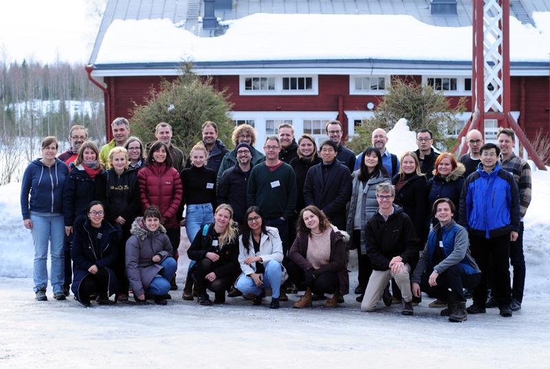 Fluorescence Across Space & Time workshop in Hyytiälä, Finland, in March.