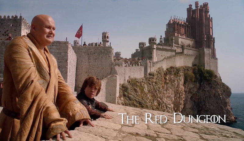 Lidar is coming: a Game of Thrones scene in an adapted Dubrovnik.