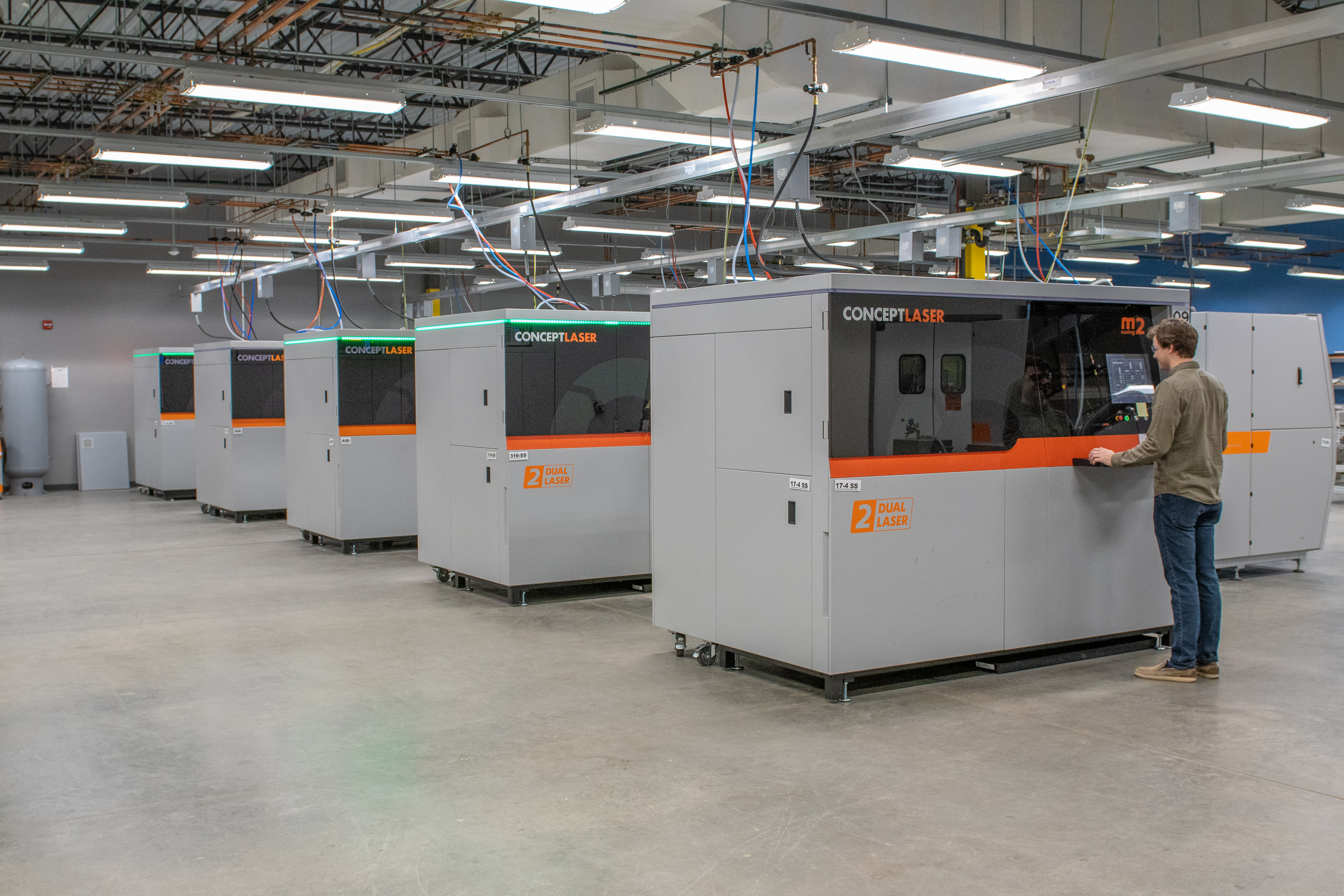 Protolabs' metal 3D printing production capabilities.