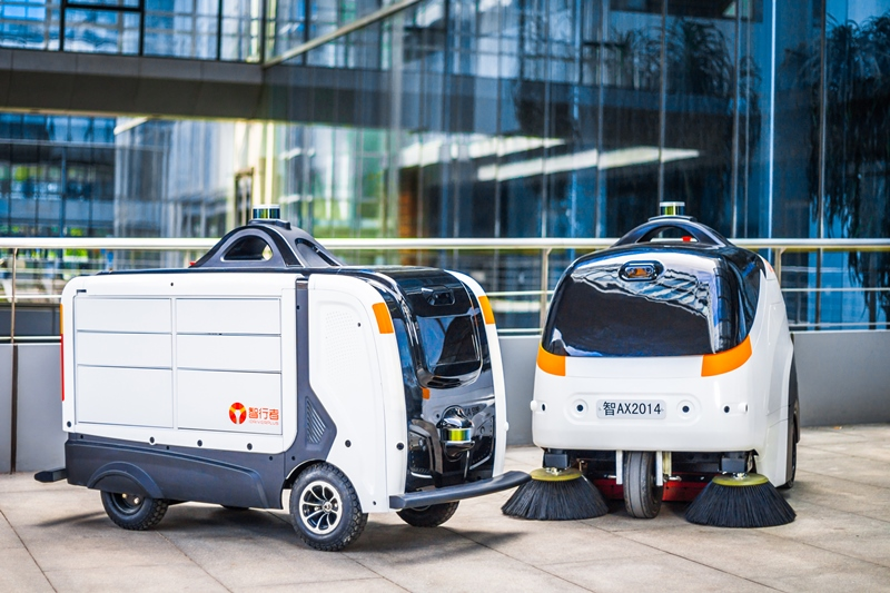 Driverless street cleaners