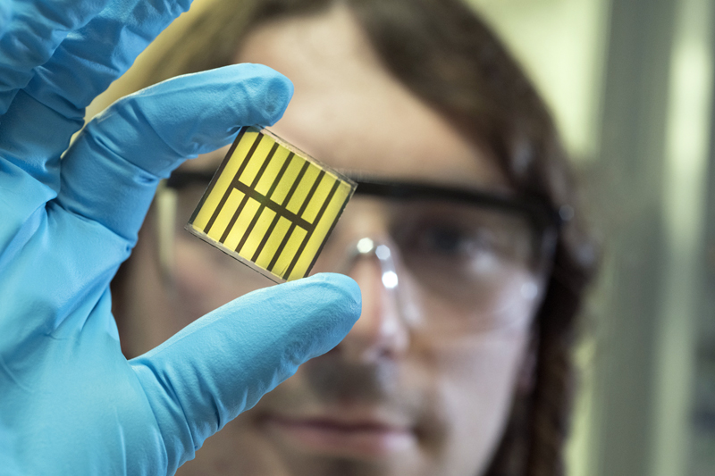 Capitano is developing combined CIGS-perovskite solar cells to boost efficiency.