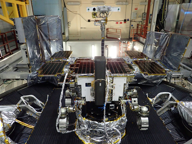 Good to go: ExoMars Rover with MOMA laser passed Airbus thermal vacuum tests.