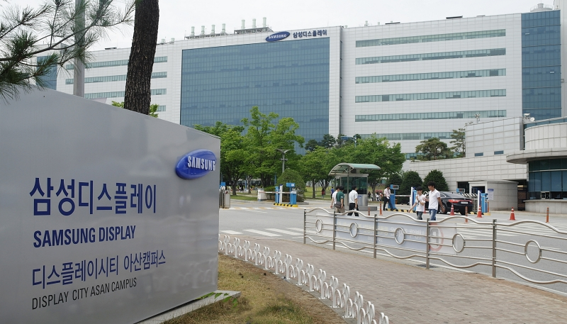 QD shift: Samsung Display Asan Campus