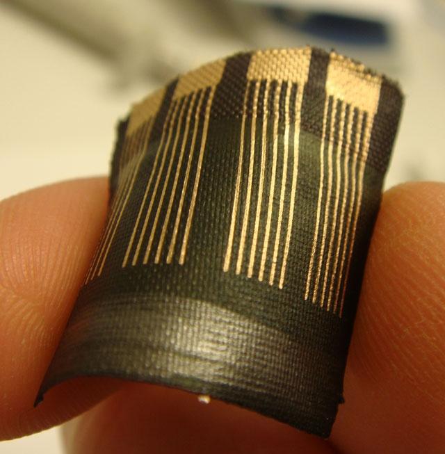 Photovoltaic textiles