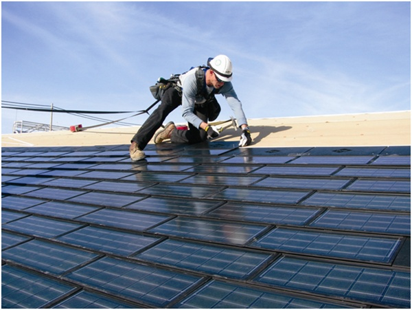 Dow's POWERHOUSE solar shingle