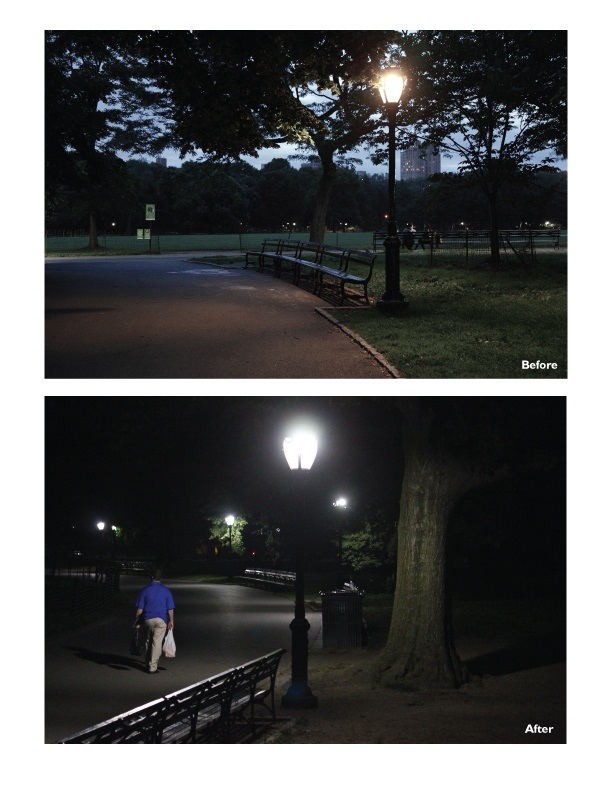 Central Park: lighting upgrade