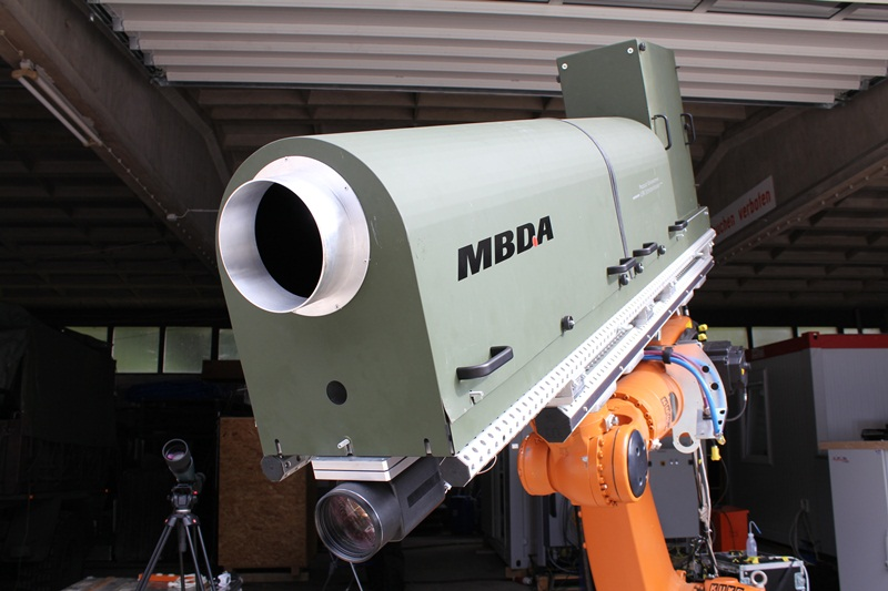 MBDA Germany's laser weapon