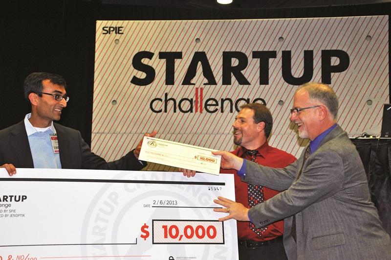 2013 SPIE Startup Challenge winner Arun Chhabra