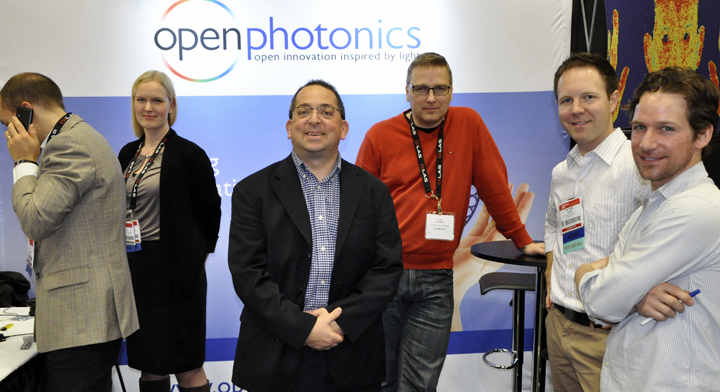 Open Photonics and VTT jointly exhibited at Photonics West in February.