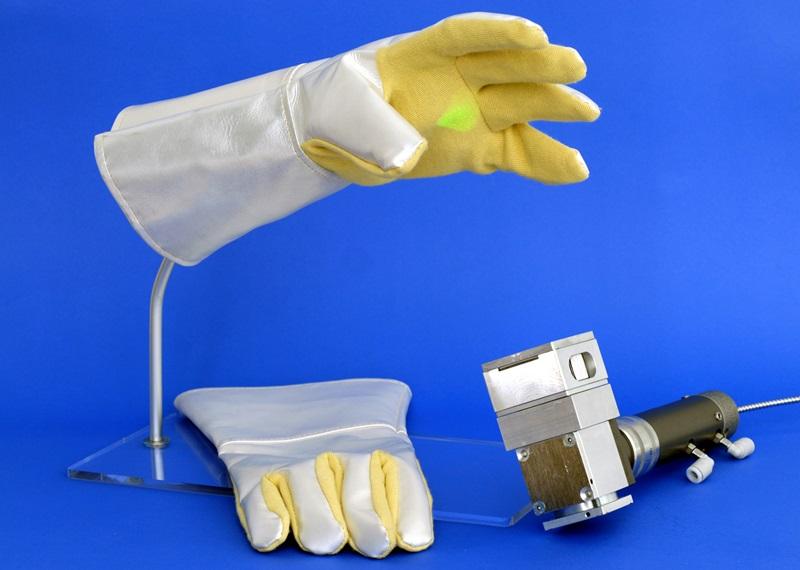 Bang on trend: laser gloves
