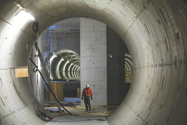 On schedule: underground civil engineering for the X-ray laser European XFEL is now complete.