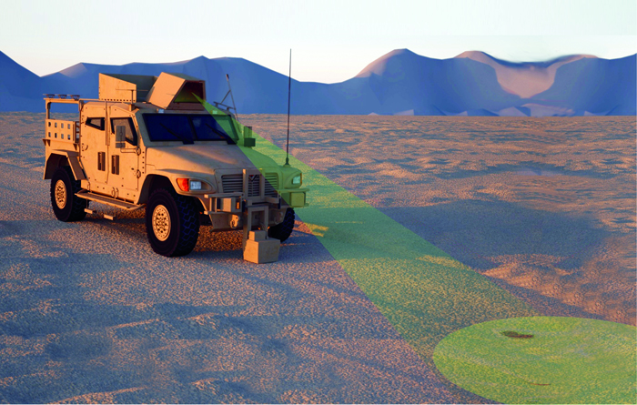 Raytheon UK has launched a laser-based IED detector called Soteria.