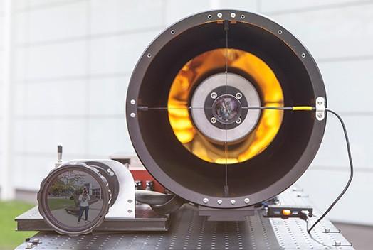The quantum cascade laser developed at Fraunhofer IAF.