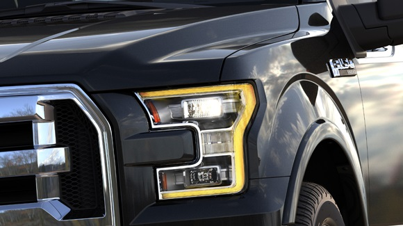 Ford F-150 LED headlamps
