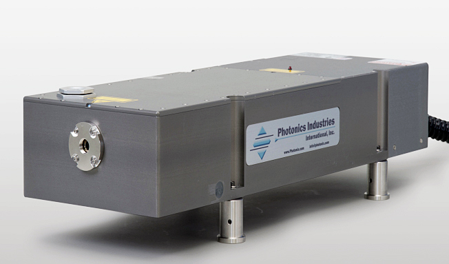 Photonics Industries' DSH-355-25 UV, ns laser.