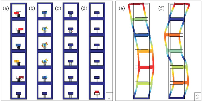 Earthquake protected? Multi-storey building with multi-scale resonators.