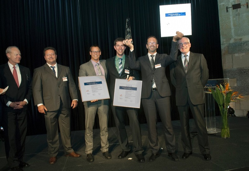 Fired up: ISE team wins AKL gong
