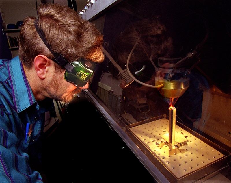 Laser engineered net shaping (LENS)