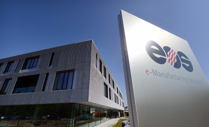 EOS has moved into a new 17,000m<sup>2</sup> plant, near Munich, Germany.