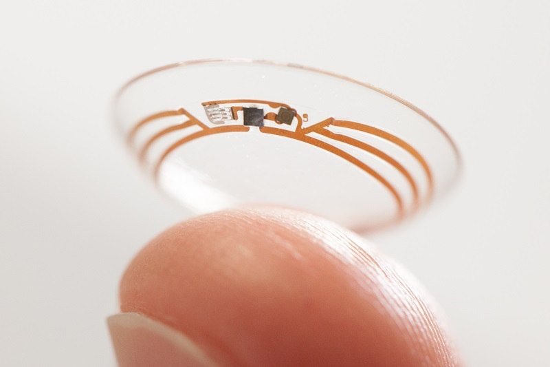 Ultimate wearable? Google's 'smart' contact lens