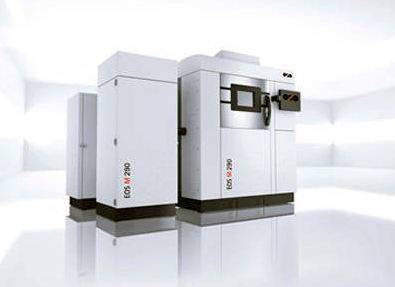 EOS's M290, a laser sintering machine suitable for industrial applications.