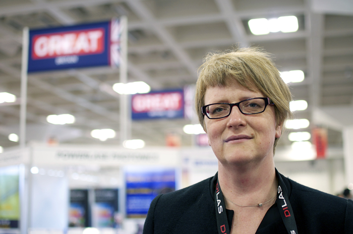 UK photonics champion: Anke Lohmann.