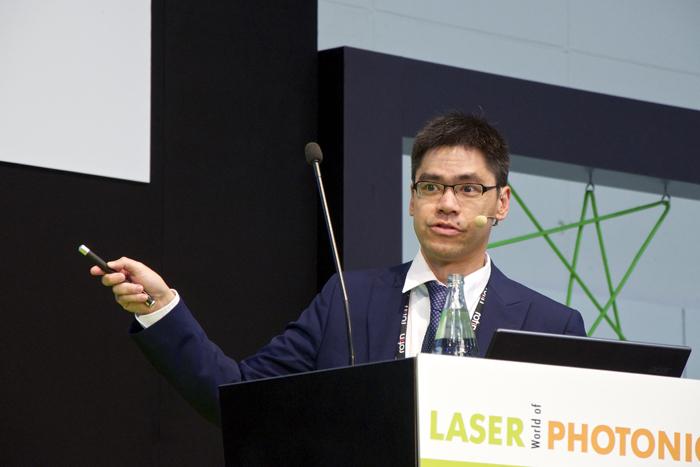 Dr Robin Huang, VP at Teradiode.